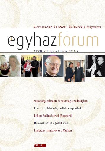 Egyházfórum 2012/3 (XXVII. évfolyam)