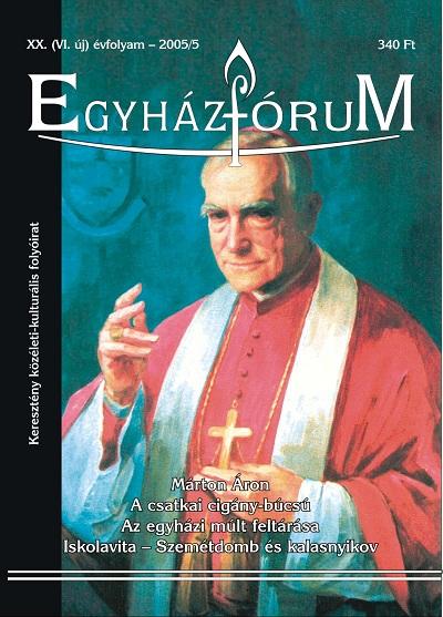 Egyházfórum 2005/5 (XX. évfolyam)