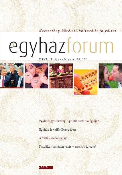 Egyházfórum 2011/2 (XXVI. évfolyam)