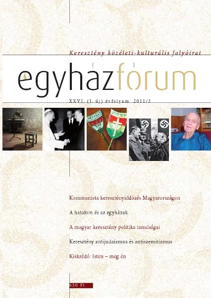 Egyházfórum 2011/3 (XXVI. évfolyam)