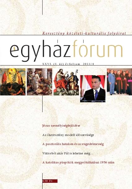 Egyházfórum 2011/4 (XXVI. évfolyam)