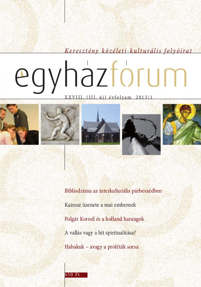 Egyházfórum 2013/2 (XXVIII. évfolyam)