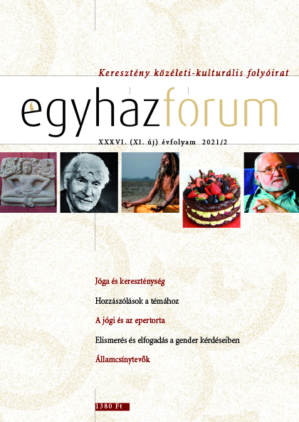 Egyházfórum 2021/2 (XXXVI. évfolyam)