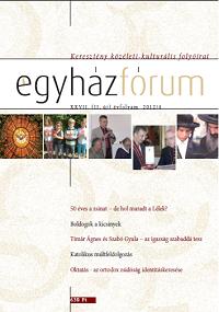 Egyházfórum 2012/4 (XXVII. évfolyam)
