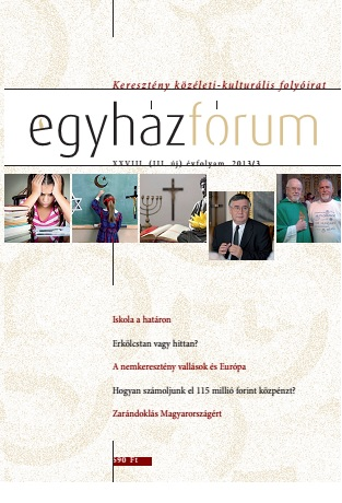 Egyházfórum 2013/3 (XXVIII. évfolyam)