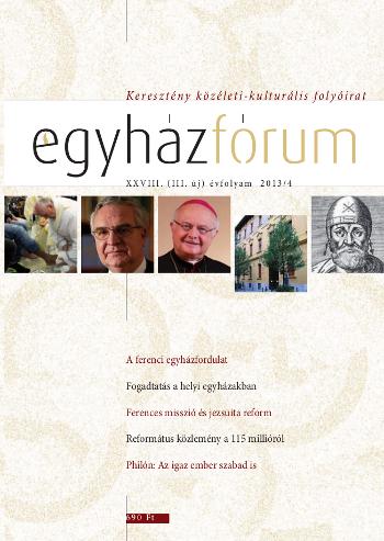 Egyházfórum 2013/4 (XXVIII. évfolyam)