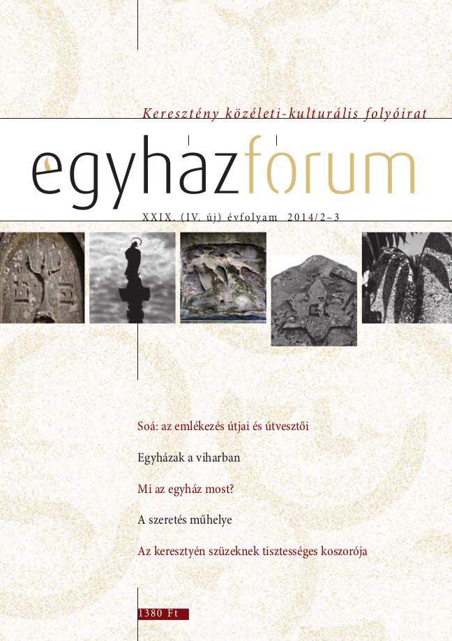 Egyházfórum 2014/2-3 (XXIX. évfolyam)