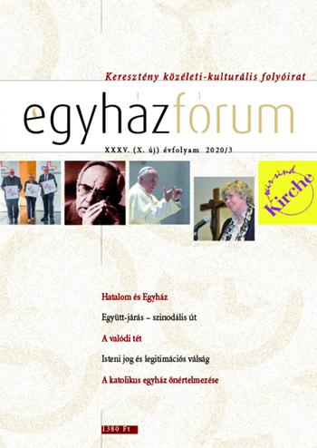 Egyházfórum 2020/3 (XXXV. évfolyam)